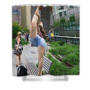 High Line Exhibitionist Shower Curtain