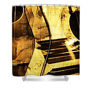 High On Music Shower Curtain
