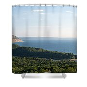 High On The Dunes Shower Curtain