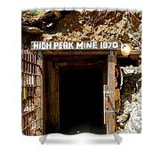 High Peak Mine Shower Curtain