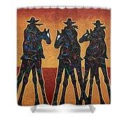 High Plains Drifters Shower Curtain
