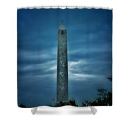 High Point Monument Shower Curtain