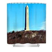 High Point Monument Nj Shower Curtain