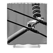 High Power Lines - 1 Shower Curtain