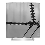 High Power Lines - 2 Shower Curtain