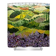 High Ridge Shower Curtain