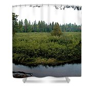 High Rollaway Shower Curtain