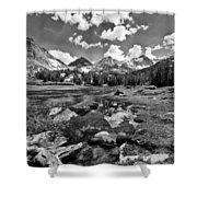 High Sierra Meadow Shower Curtain