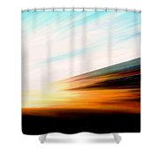 High Speed 6 Shower Curtain
