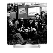 High Stakes Poker - 1913 Shower Curtain