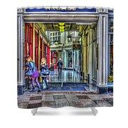 High Street Arcade Cardiff Shower Curtain