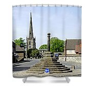 High Street To Willington Road - Repton Shower Curtain
