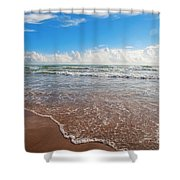 High Tide In South Padre  Shower Curtain