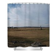High Tide Of The Confederacy Color Shower Curtain