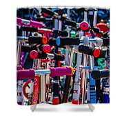 High Time To Buy A Scooter 1 Vertical Shower Curtain