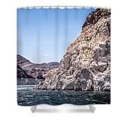 High Water Level Shower Curtain