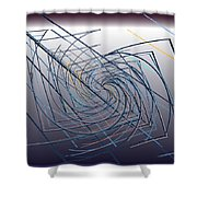 High Wire Act Shower Curtain