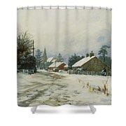 Higham Winter 86 Shower Curtain