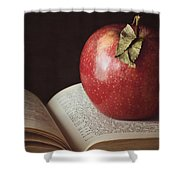 Higher Learning Shower Curtain by Amy Weiss
