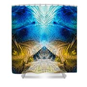 Higher Love Art By Sharon Cummings Shower Curtain