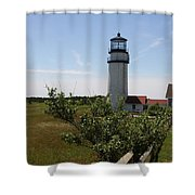 Highland Light - Cape Cod - Ma Shower Curtain