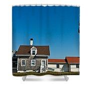 Highland Lighthouse Or Cape Cod Lighthouse Shower Curtain