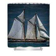 Highlander Sea Shower Curtain