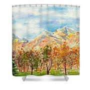 Highlands Autumn Shower Curtain
