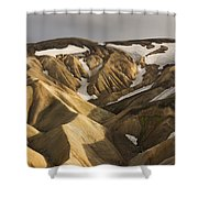 Highlands Fjallabak Nature Reserve Shower Curtain