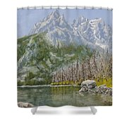 Highwater Pines Shower Curtain