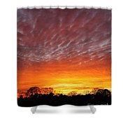 Highway 61 Sunset Shower Curtain
