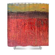 Highway Series - Cranberry Bog Shower Curtain