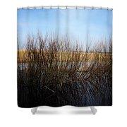 Highway Seven  Shower Curtain