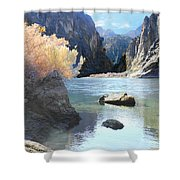 Hikers Haven Shower Curtain