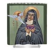 St. Hildegard Of Bingen 171 Shower Curtain