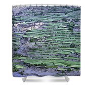 Hill Modified For Agriculture, Tetang Shower Curtain