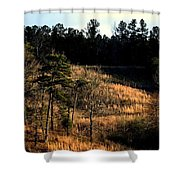 Hill Of Gold Shower Curtain
