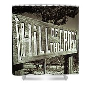 Hill Of The Cross Shower Curtain