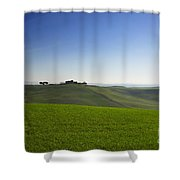 Hills On The Field Shower Curtain