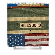 Hillsboro Village Nashville Shower Curtain