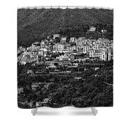 Hillside Amalfi Coast Shower Curtain