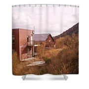 Hillside Shower Curtain