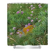 Hillside Of Wildflowers Shower Curtain