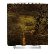 Hillside Sanctuary Shower Curtain