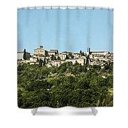 Hilltop City Shower Curtain