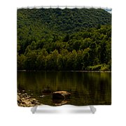 Hilltop In The Berkshires Shower Curtain