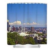Hilltop View Shower Curtain