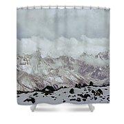 Himalayan Sherpa Memorial Shower Curtain