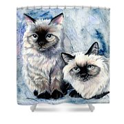 Himalayan Duo Shower Curtain