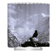 Himalayan Freedom Shower Curtain
